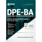 Apostila DPE-BA 2018 - Analista Técnico de Nível Superior - Direito