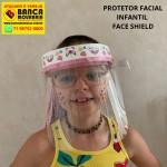 MASCARA DE PROTEÇÃO FACIAL INFANTIL