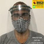 Máscara de proteção facial