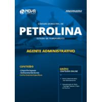 Apostila Câmara de Petrolina - PE 2019 - Agente Administrativo