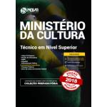 Apostila Ministério da Cultura 2018 - Técnico em Nível Superior