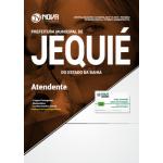 Apostila Prefeitura de Jequié -BA 2018 Atendente