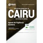 Apostila Prefeitura de Cairu - BA 2018 - Agente Vigilância Santitária