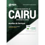 Apostila Prefeitura de Cairu - BA 2018 - Auxiliar de Serviços