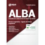 Apostila Assembleia Legislativa da Bahia (ALBA) 2018 - Técnico Legislativo - Agente de Polícia Legislativa