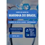 Apostila Corpo de Saúde da Marinha do Brasil 2021 - Quadro de Apoio à Saúde - Enfermagem