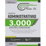 Livro Passe Já - 3.000 questões - Carreiras Administrativas