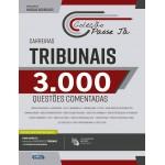 Livro Passe Já - 3.000 questões - Carreiras Tribunais