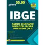 Apostila IBGE  Agente Censitário Municipal (ACM) e Agente Censitário Supervisor (ACS)