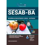 Apostila SESAB-BA 2021 - Residência em Nutrição Clínica-Nutrição