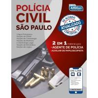 Apostila Polícia Civil de São Paulo - Agente de Polícia e Auxiliar de Papiloscopista - PCSP