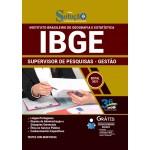 Apostila IBGE 2021 - Supervisor de Pesquisas - Gestão