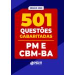 501 Questões PM-BA e CBM-BA - Gabaritadas