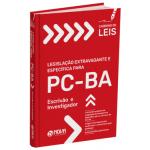 Caderno de Leis PC-BA Escrivão e Investigador