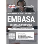 Apostila EMBASA 2021 - Agente Administrativo