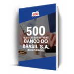 500 Questões Banco do Brasil (Escriturário) - Gabaritadas