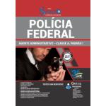 Apostila Polícia Federal (PF) 2021 - Agente Administrativo - Classe A, Padrão I