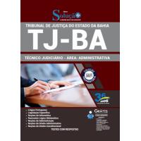 Apostila TJ - BA 2021 - Técnico Judiciário - Área: Administrativa