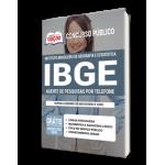 Apostila IBGE 2021 - Agente de Pesquisas por Telefone