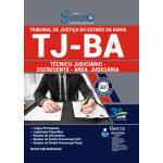 Apostila TJ - BA 2021 - Técnico Judiciário - Escrevente - Área: Judiciária