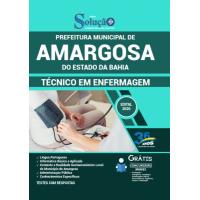 Apostila Prefeitura de Amargosa - BA 2020 - Técnico em Enfermagem
