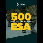 Caderno de Testes - ESA - 500 Questões Gabaritadas