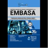 Apostila EMBASA 2020 - Comum aos Cargos de Nível Técnico e Médio