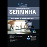 Apostila Prefeitura de Serrinha - BA 2020 - Auxiliar Administrativo