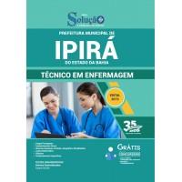 Prefeitura Municipal de Ipirá BA - Técnico em Enfermagem