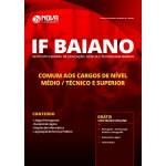 Apostila IF Baiano 2019 - Comum aos Cargos de Nível Médio/ Técnico e Superior
