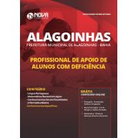 Apostila Prefeitura de Alagoinhas - BA 2019 - Profissional de Apoio de Alunos com Deficiência
