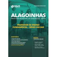 Apostila Prefeitura de Alagoinhas - BA 2019 - Professor de Ensino Fundamental - Anos Iniciais