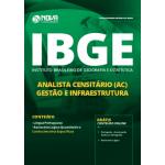 Apostila IBGE 2019 - Analista Censitário (AC) - Gestão e Infraestrutura