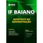 Apostila IF Baiano 2019 - Assistente em Administração