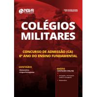 Apostila Colégios Militares 2019 - Concurso de Admissão (CA) 6º ano do Ensino Fundamental