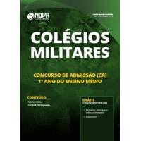 Apostila Colégios Militares 2019 - Concurso de Admissão (CA) 1º ano do Ensino Médio