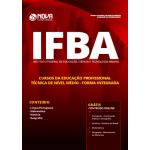 Apostila IFBA 2019 - Cursos da Educação Profissional Técnica de Nível Médio - Forma Integrada