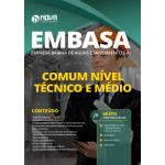 Apostila EMBASA 2020 - Comum Nível Técnico e Médio