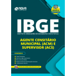 Apostila IBGE 2020 - Agente Censitário Municipal e Supervisor (ACM e ACS)