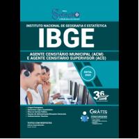 Apostila IBGE 2020 - Agente Censitário Municipal (ACM) e Agente Censitário Supervisor (ACS)