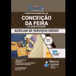Apostila Prefeitura de Conceição da Feira - BA - 2019 - Auxiliar de Serviços Gerais