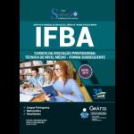 Apostila IFBA - 2019 - Cursos da Educação Profissional Técnica de Nível Médio - Forma Subsequente