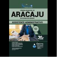 Apostila Câmara Municipal de Aracaju - SE 2020 - Assistente Administrativo