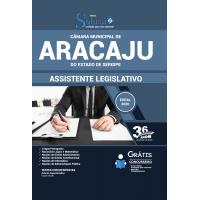 Apostila Câmara Municipal de Aracaju - SE 2020 - Assistente Legislativo