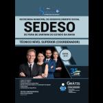 Apostila SEDESO-BA 2019 - Técnico de Nível Superior (Coordenador)