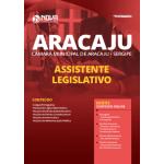 Apostila Câmara de Aracaju - SE 2020 - Assistente Legislativo