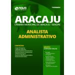 Apostila Câmara de Aracaju - SE 2020 - Analista Administrativo