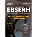Apostila EBSERH 2019 - Analista Administrativo - Administração