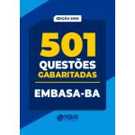 501 Questões EMBASA-BA - Gabaritadas