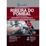 Apostila Prefeitura de Ribeira do Pombal - BA 2020 - Motorista (Categoria D) e Operador de Máquinas Pesadas